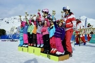 Group courses at the Resia Ski School